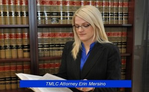 TMLC Senior Trial Counsel Erin Mersino