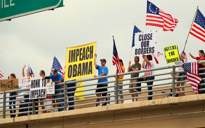 Dallas Overpass Rally