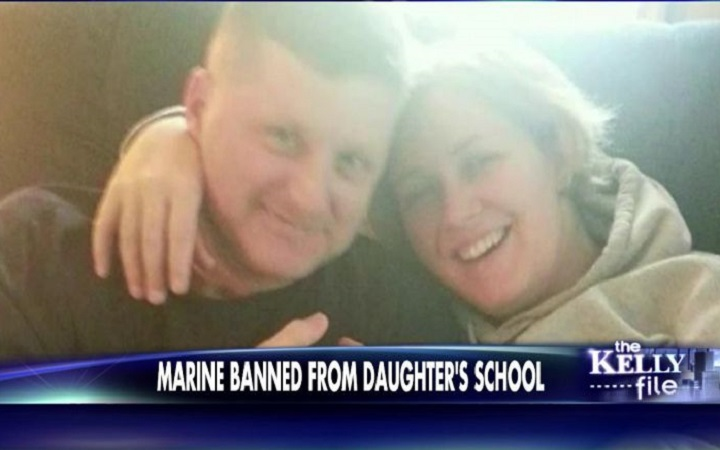 Marine Dad Banned from School Property; Daughter Gets Failing Grade for Refusing Islamic Indoctrination – The Thomas More Law Center Steps In