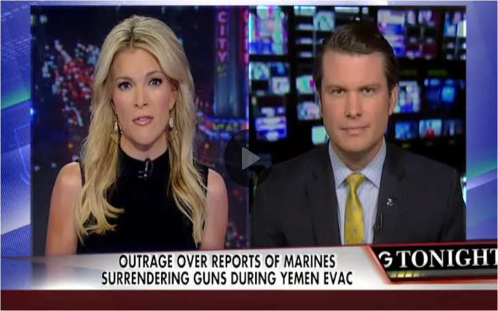 A Slap in the Face – Marines Ordered to Destroy their Weapons as the Yemen Embassy is Surrendered
