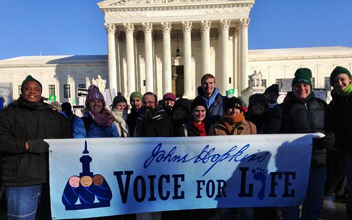 Despite Opposition from Fellow Students, Voice for Life Continues its Uncompromising Fight for the Unborn